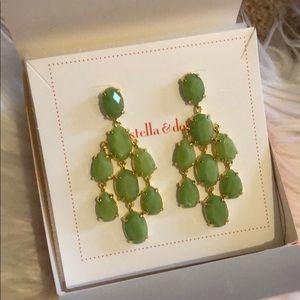 Stella and Dot Jade Chandelier - green